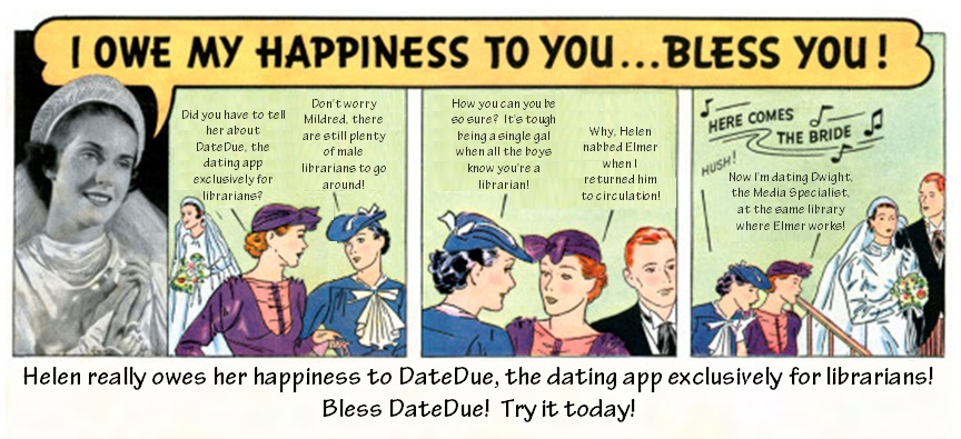 Librarian dating website